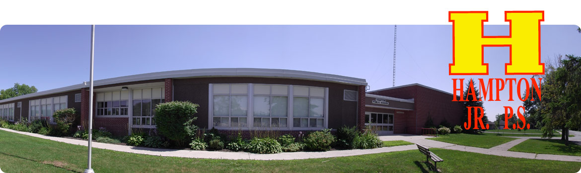 Picture of the front of the school