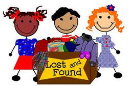 Lost & Found-Will be donated on Thursday, March 12